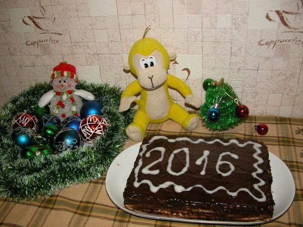 Новогодний торт фоторецепт
