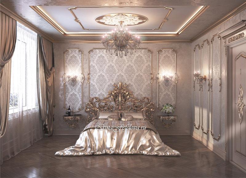 роскошный интерьер, дизайн дорогого интерьера, барокко в интерьере, стиль барокко, барочный интерьер, квартира в стиле барокко