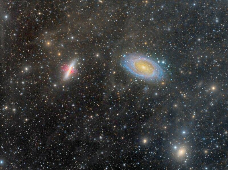 Бескрайность космоса