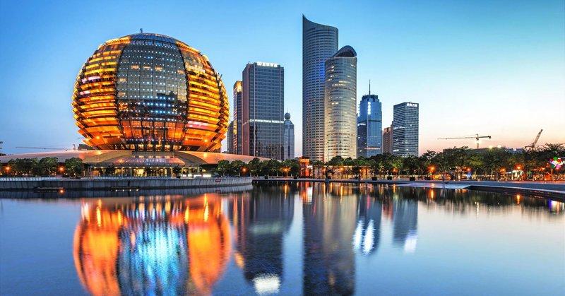 Ханчжоу развивающаяся столица провинции Чжэцзян