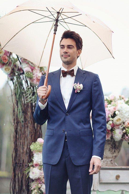 Образ жениха в сентябрьской свадьбе
