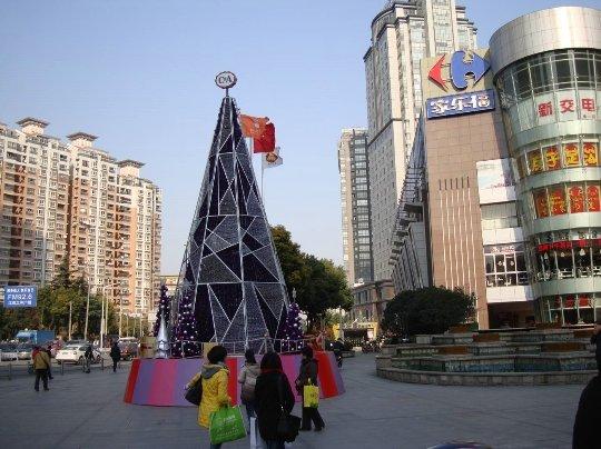 Традиции празднование Рождества в Китае, как отмечают рождественские праздники в Китае.