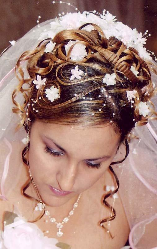 свадебные прически с челкой на средние волосы с... / Свадьба / Свадебные прически,макияж / Pinme.ru