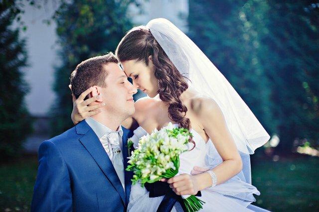 Очень нежная сентябрьская свадьба
