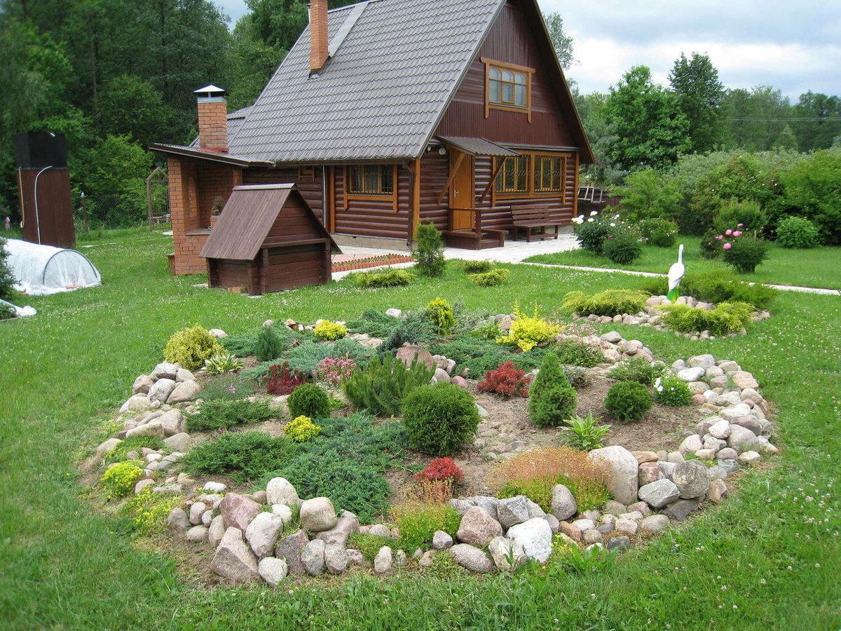 обустроить садовый участок своими руками