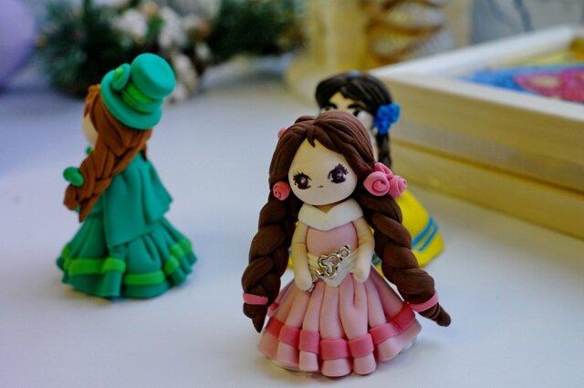 изменить цвет кукла из пластилина своими руками вынимается