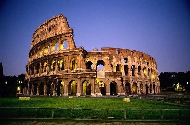 Чудо света амфитеатр Колизей в Италии - Чудеса света колизей италия