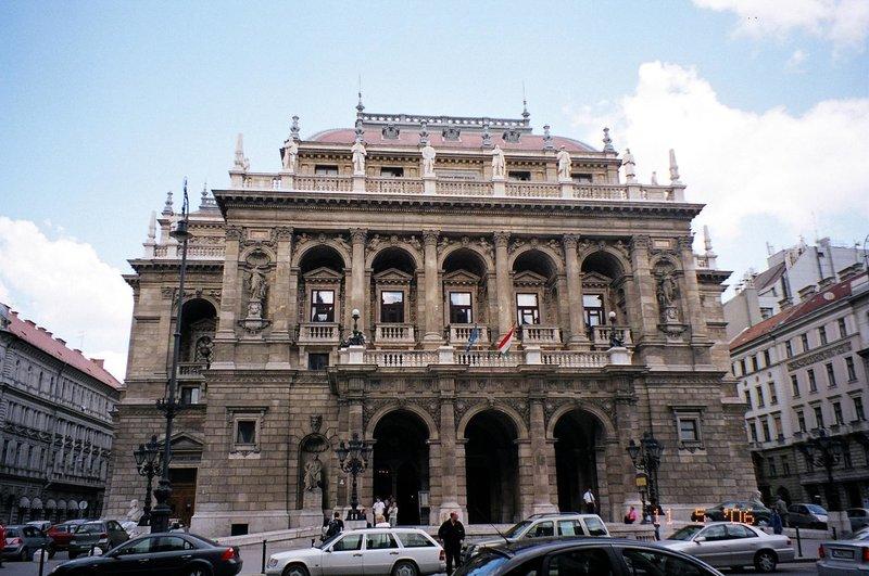 Венгерский Государственный Оперный Театр Будапешт