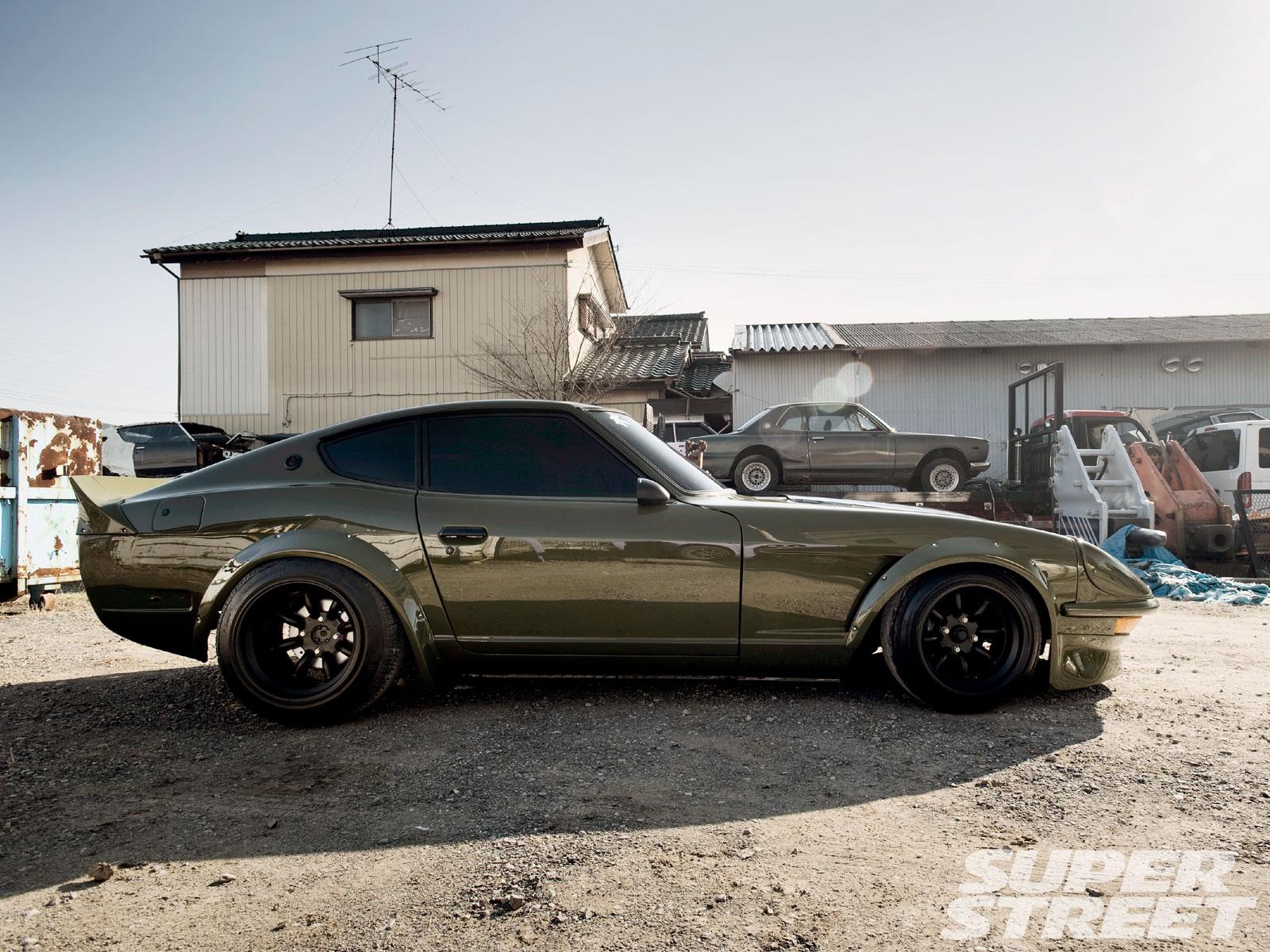 Nissan Fairlady S30-stance\
