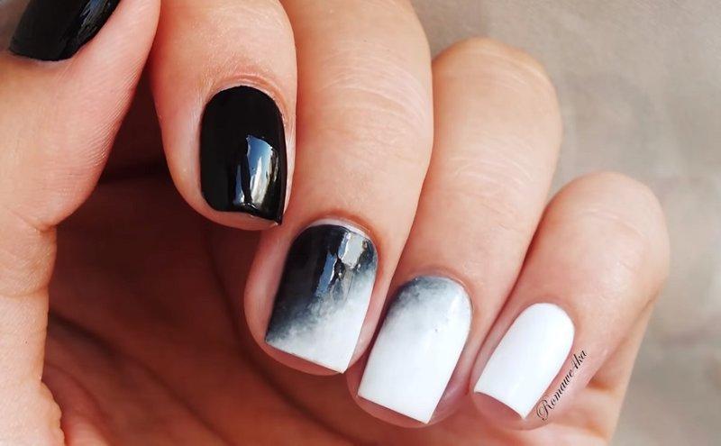 Красивый но простой дизайн ногтей