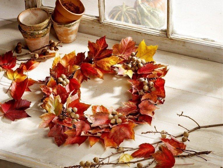 Что можно сделать из кленовых листьев