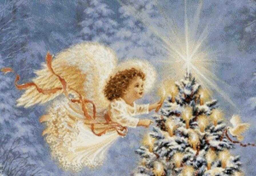 День, рождественские картинки ангелочки