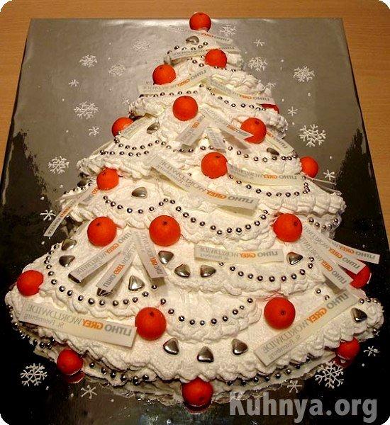 Новогодний торт ёлочка фото рецепт