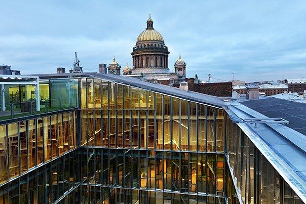 Строиться по одному: 12 удачных примеров современной петербургской ... Строиться по одному: 12 удачных примеров современной петербургской архитектуры. Изображение № 24.