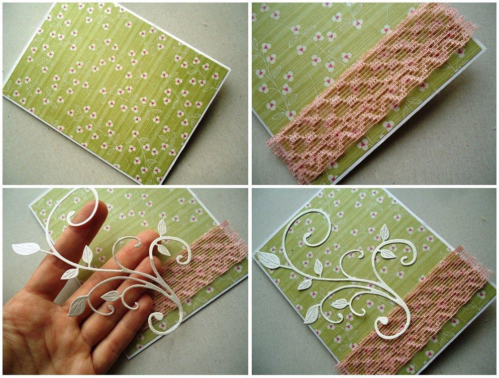 Изготовление открыток материал