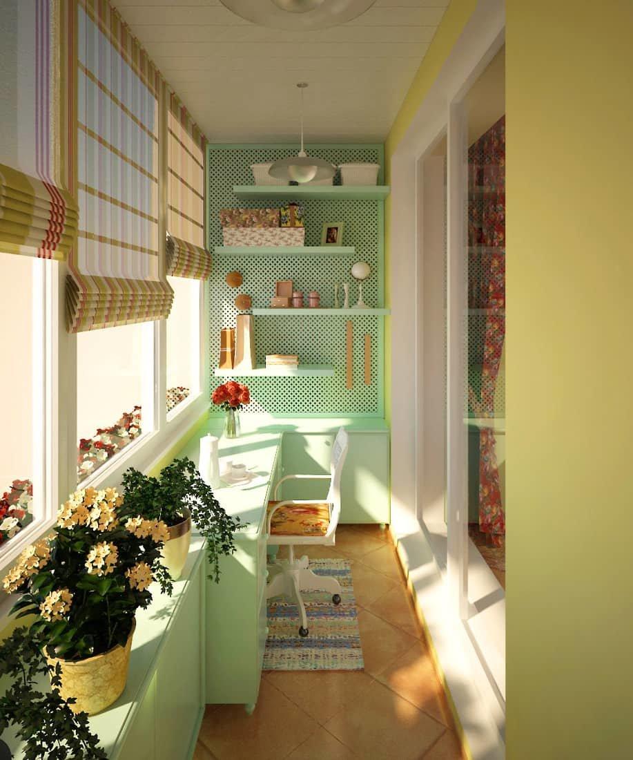 25 гениальных идей для оформления маленьких балконов - смотр.