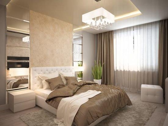 Спальня с зеркалами