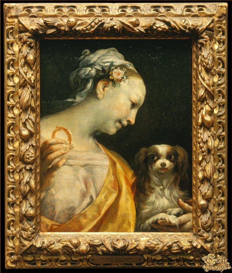 Giuseppe Maria Crespi, Italian, 1665 1747, картины, репродукция сувенир.сайт