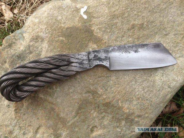 Нож с троса своими руками