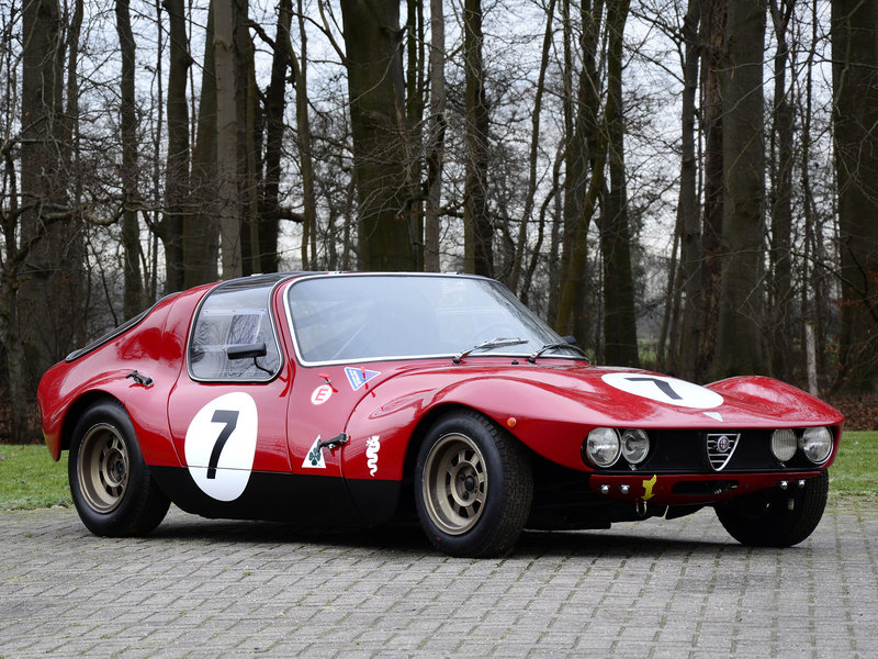 Alfa Romeo Giulia TZ Berlinetta Prototipo