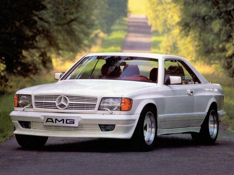AMG Mercedes 500SEC 5.0 C126