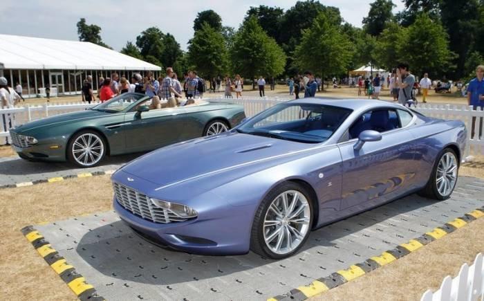 Ателье Zagato покажет юбилейные Aston Martin DBS Coupe и Spyder DB9 (10 фото)