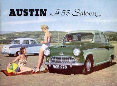 старая реклама автомобилей