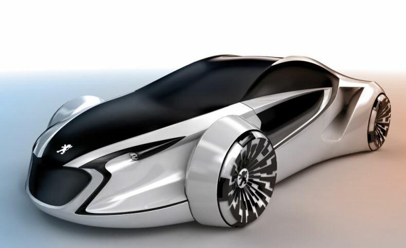 Автомобили будущего (9 Фото) » Триникси