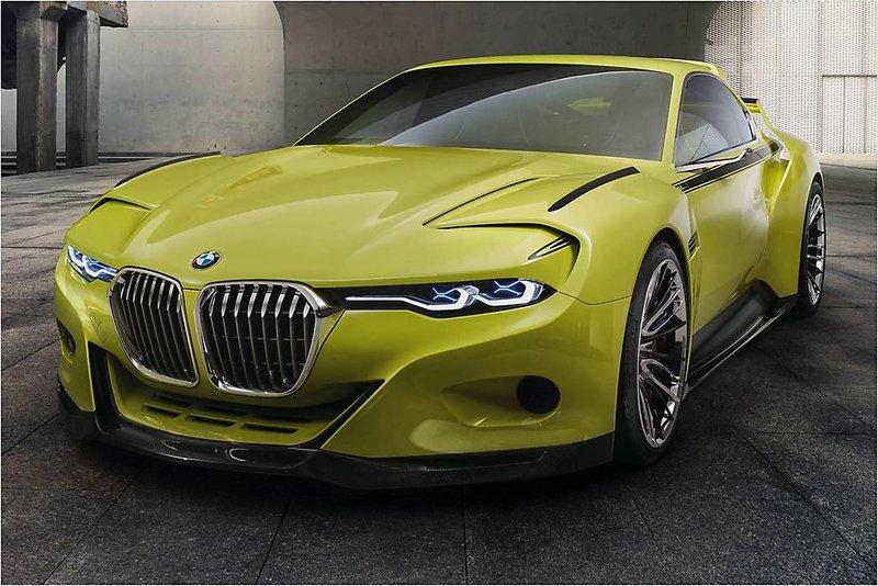 BMW 3,0 CSL Hommage Concept (2015) › описание, видео и фото BMW 3,0 CSL Hommage Concept › AutoZov.ru