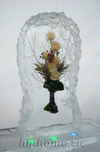 Букет в льду