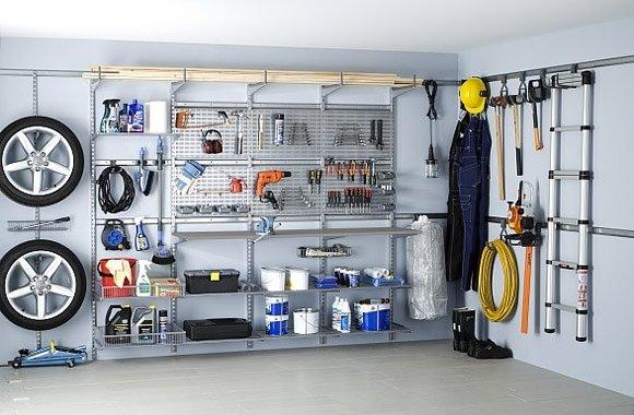 Дизайн гаража внутри
