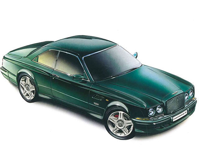 Энциклопедия Bentley Continental R (1991 - 2003) | StarCar.by