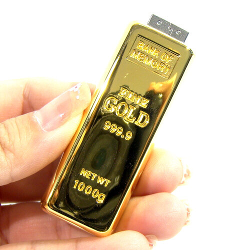 Флешка-слиток золота