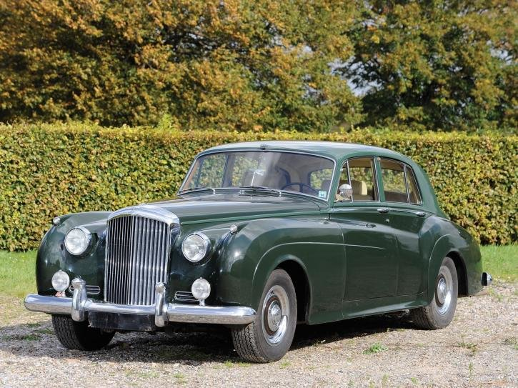 Фотографии 1955 Bentley S1. Фото, заставки и обои для рабочего стола c автомобилем Bentley S1 1955 года. VERcity