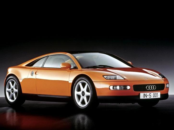 Фотографии 1991 Audi Quattro Spyder Concept. Фото, заставки и обои для рабочего стола c автомобилем Audi Quattro Spyder Concept 1991 года. VERcity