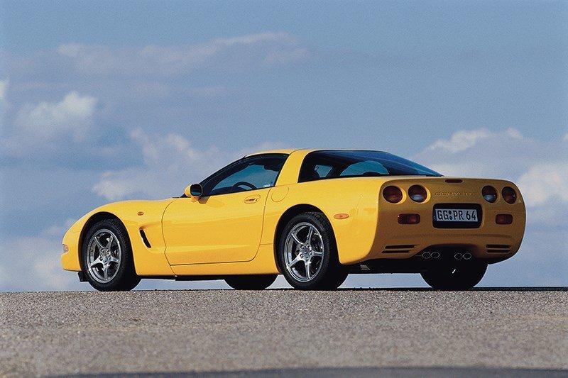 Фотография автомобиля Chevrolet Corvette (поколение C5) фотография 6
