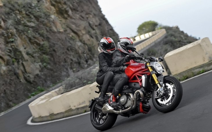 Фотосессия Ducati Monster 1200S