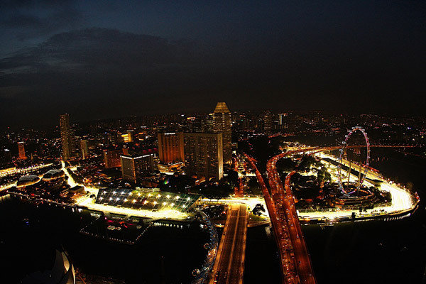 Городская трасса Марина Бей в Сингапуре (фото) - Gooddays.ru