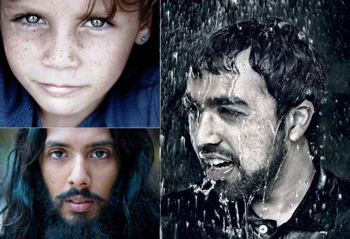 Невероятно красивые портреты людей.