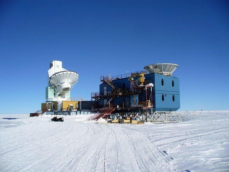 Южный полярный телескоп SPT, Антарктика