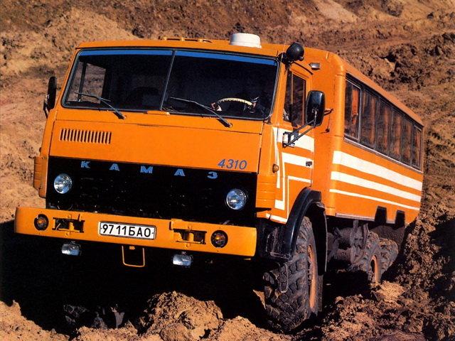 КамАЗ 4960 Опытный