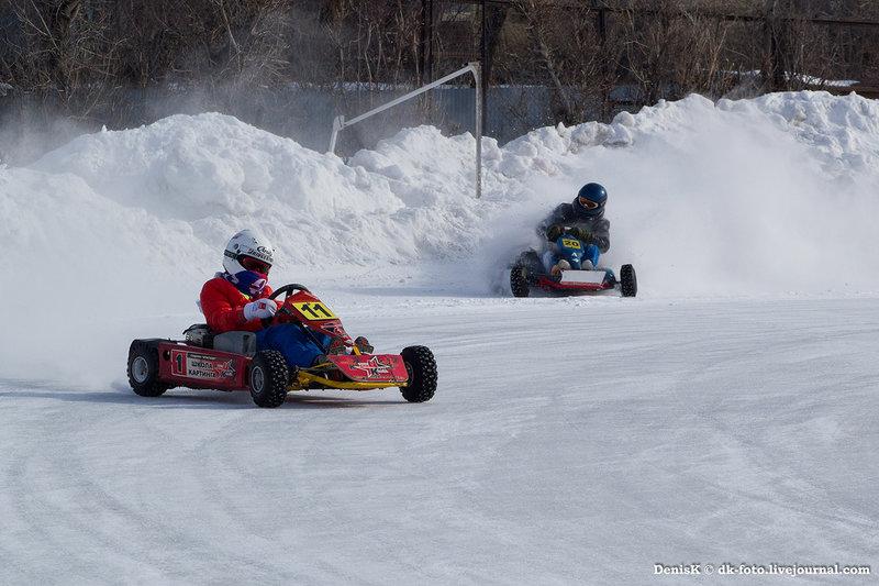 Картинг. Ледяные гонки