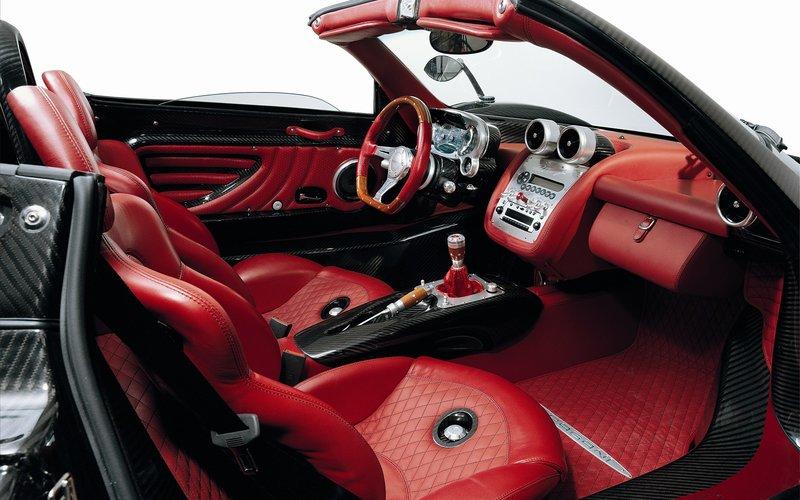 Картинка Pagani Zonda interior / Пагани Зонда интерьер » Pagani | Пагани » Автомобили »   Картинки 24 - скачать картинки бесплатно