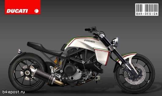 Концепт Ducati D-66