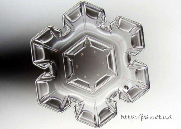 Кристалл снежинки