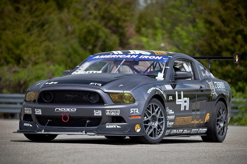 Ливрея Performance Autosport для гоночного Mustang RTR