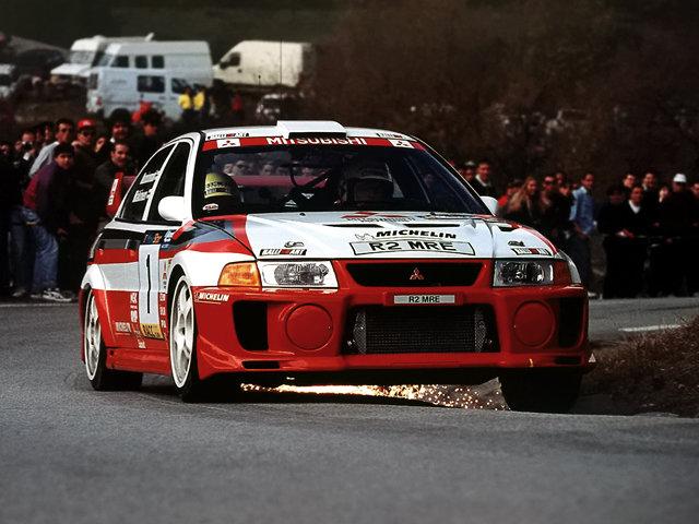 Mitsubishi Lancer Evolution V Gr.A WRC