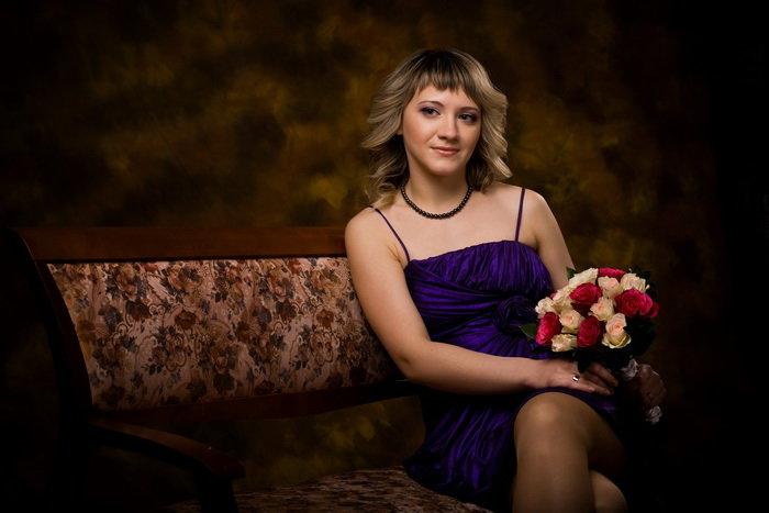 Профессиональные фото портреты людей | Красивый студийный женский портрет