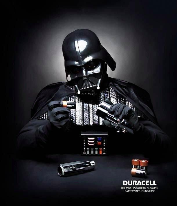 Рекламная иллюстрация. Duracell