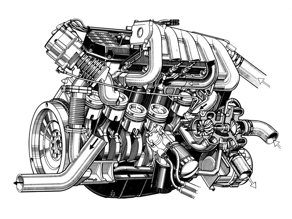 Двигатель машины картинки для детей